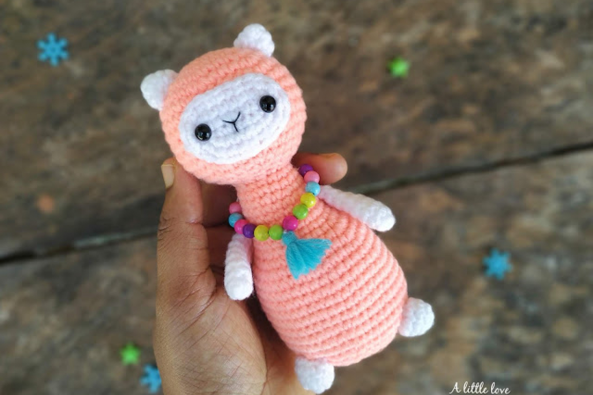 DIY Crochet Fluffy Alpaca Amigurumi Pattern (PDF format ... | 800x1200