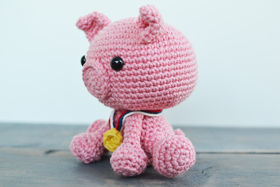 Porkchop The Pig Crochet Pattern By Yarn Society