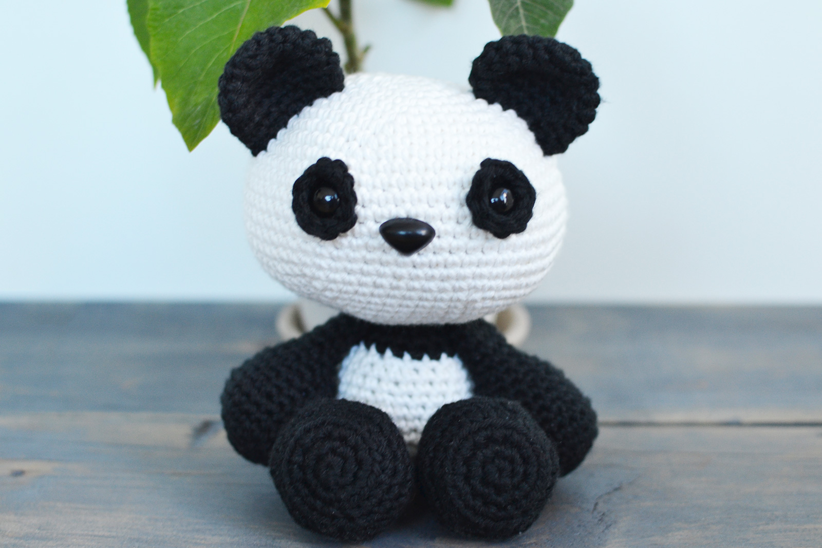 Crochet Panda [FREE Crochet Pattern + Video Tutorial] | 1067x1600