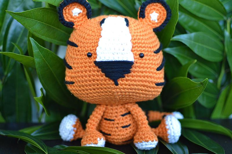 Romeo the Tiger amigurumi pattern | Amigurumi pattern, Stuffed ... | 533x800