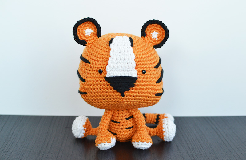 Free Amigurumi Crochet Pattern for Thomas the Tiger ⋆ Crochet Kingdom | 522x800