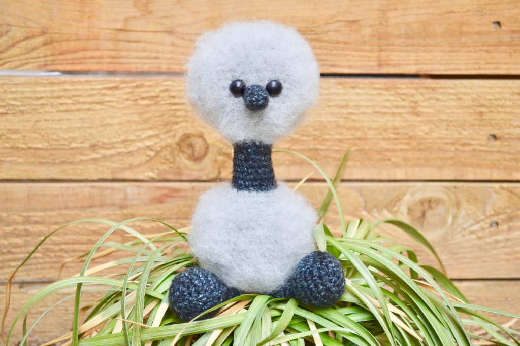 Emmet the Emu by Keke @ Yarn Society