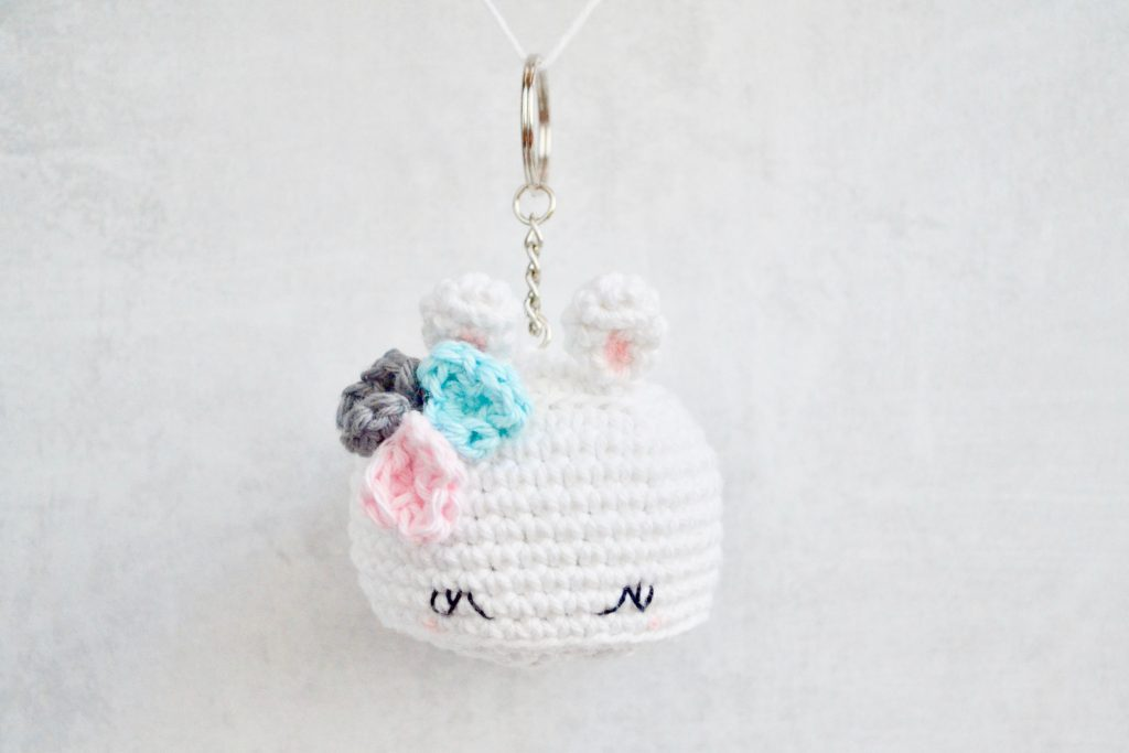 Bea the Bunny Keychain by Yarn Society