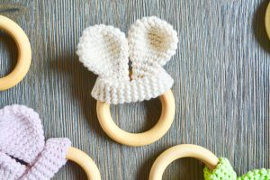 Bunny Ear Teether