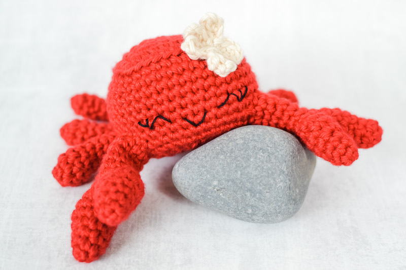 Crochet Amigurumi Crab - Tutorial - YouTube | 533x800