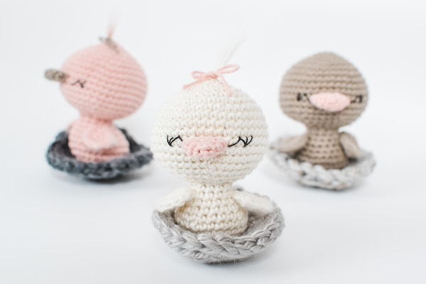 Chick or Duck Amigurumi Free Crochet Pattern | 400x600