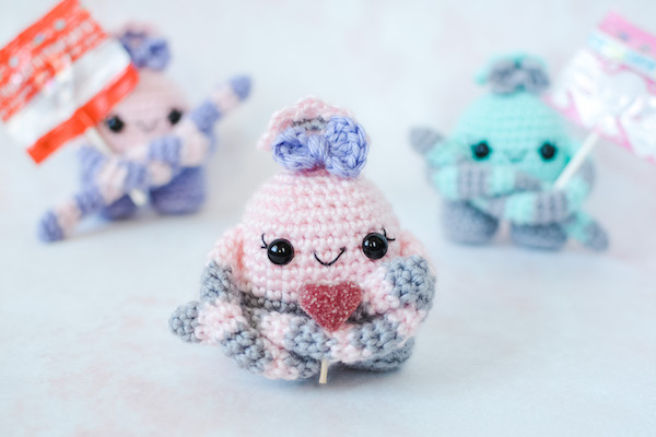 Crochet Yarny Monsters Pattern and Video | 400x600