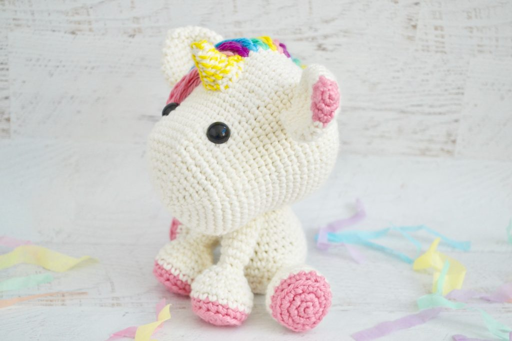 Comet the Unicorn Comet the Unicorn crochet pattern | 683x1024